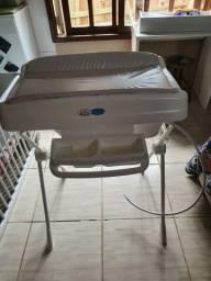 Banheira de Bebê Burigotto com Trocador-Millenia 20 Litros