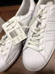 Tênis adidas superstar branco 43/44 NOVO