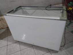 Frizer Fricon de 2 tampa espelhado bem conservado