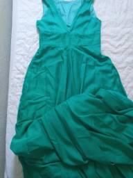 Vendo vestido de festa usando uma vez