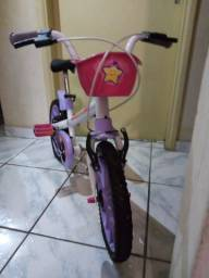 Bicicleta infantil com rodinhas e Patins (33 - 36)