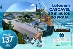 Villa Cascavel 2 no Ceará Terrenos (marque uma visita) (