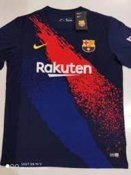 Camisa Barcelona Pre-Match Nike 19/20 - Tamanhos: P, G