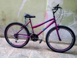 Bicicleta aro 26 seminova impecável