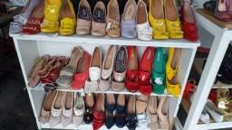 Calçados de primeira mega shoes.