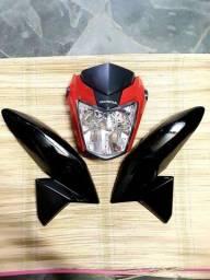Frente e asas Titan 160