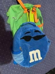 Mochila sapo Skip hop e M&M azul