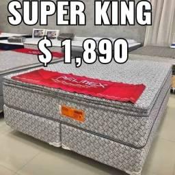 Cama super King de promoção