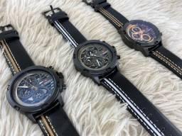 Relógios masculinos Naviforce  couro luxo original
