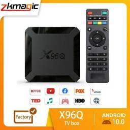 TvBox X96Q 4K - Android 10 - Quad Core 2GB+16GB