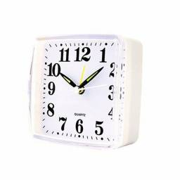 Relógio Despertador De Mesa Colorido Quadrado Quartz<br><br>