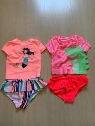 2 conjunto de praia menina