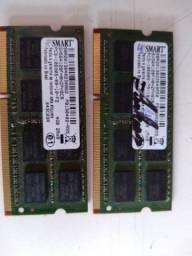 memoria ddr3 de notebook  8gb 2X4gb