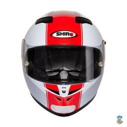 Capacete Shiro SH 600 Robotic White