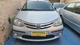 Toyota Etios Sedan 1.5 Flex Ano 2014 Montanha Automóveis