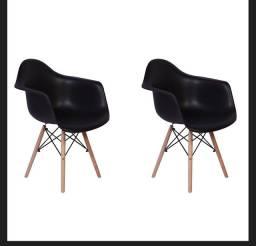 02 cadeiras EAMES palito