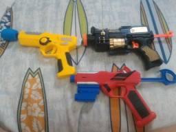 Kit de arminhas de brinquedo