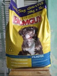 Ração BomGuy Premium Filhotes 25kg