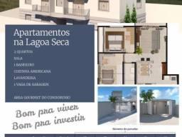 Vendo - Apartamentos de dois dormitórios, a 1 km do centro de São Lourenço/MG