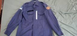 Vendo uniforme bombeiro Civil Azul