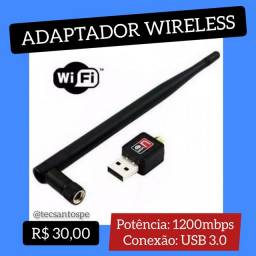Adaptador Wireless 1200mbps USB 3.0