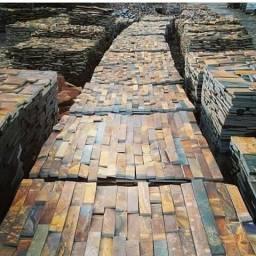 Filete de Pedra Ferro Basalto 5cm Natural DoMeuGosto  Pisos e Revestimentos
