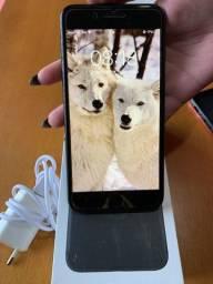 IPhone 7 Plus 32 GB preto fosco anatel camera traseira não funciona estado de novo lindo.