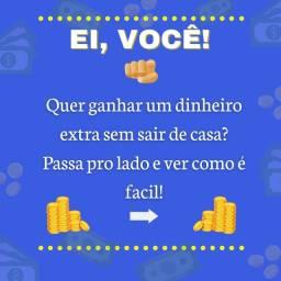DINHEIRO EXTRA SEM SAIR DE CASA!