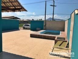 JC-035-1  Casa em Unamar, Tamoios - Cabo Frio  2 quartos com área gourmet e piscina