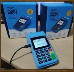 Máquina de cartão point Pró 2 Lançamento MercadoPago
