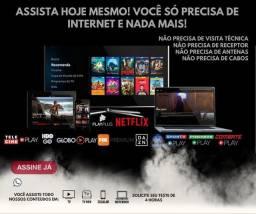serviço de tv por streaming