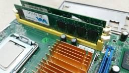 Kit Top Placa-Mae Processador Core 2 Quad