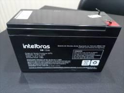 Bateria Intelbras p/ cerca elétrica e sistema de vigilância CFTV