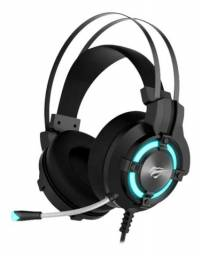 Headset Gamer Havit H2212d Led Usb P2 3.5mm - Loja Natan Abreu
