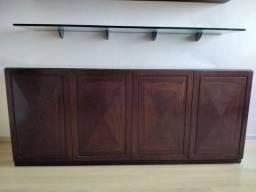 Móveis em madeira maciça p/ escritório