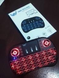 Mini teclado controle sem fio