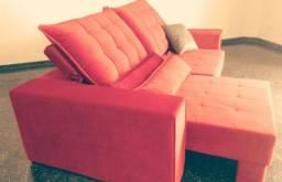 Sofá Retrátil Super Luxo
