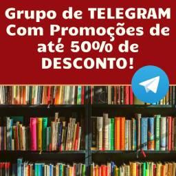 Grupo de Promoções de Livros - Até 50% de Desconto!