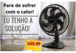 Ventilador Arno 40cm em promoção NOVO