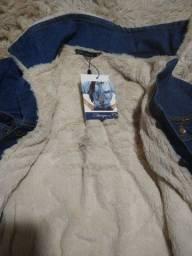 Jaqueta jeans estravaganza dupla face