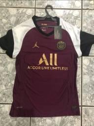 camisa PSG lll 20/21 nike versao player