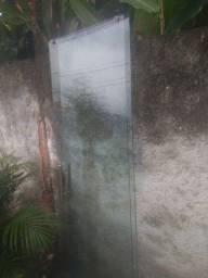 Portas de vidro  temperado