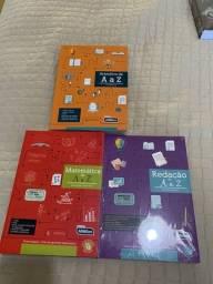 Livros para concurso público - Alfacon. Atualizados e novos