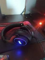 Headset Gamer KP-465 LED 7.1