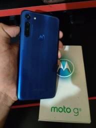 Moto G8 - 64GB + NF + GARANTIA