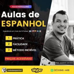 Aulas de Espanhol Particular