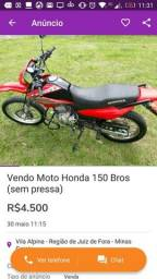 Vendo Honda Bros - 2007