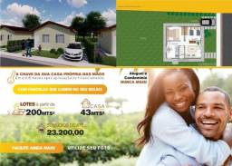 MA - casas de 2 quartos em lote de 200m²