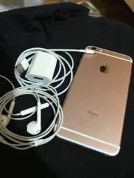 IPhone 6s Plus (64GB) ROSE / ZERADO / IMPECÁVEL