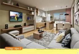 Apartamentos com 2 quartos e sacada com 48 m² por apenas R$137.000,00